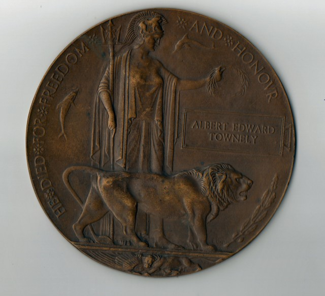 A.E.Townley plaque
