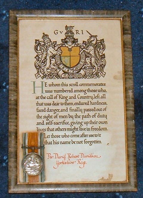 DRD medal and certificate (1)