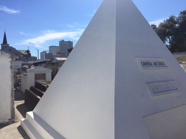 Mardi Gras Nicholas Cage tomb
