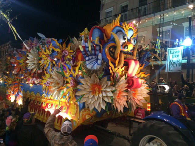 Mardi Gras Orpheus float 3