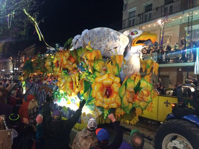 Mardi Gras Orpheus float2