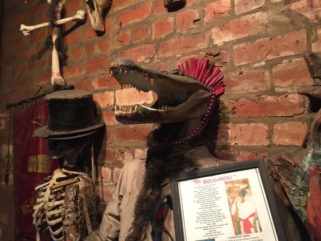 Mardi Gras Voodoo Museum Rougarou