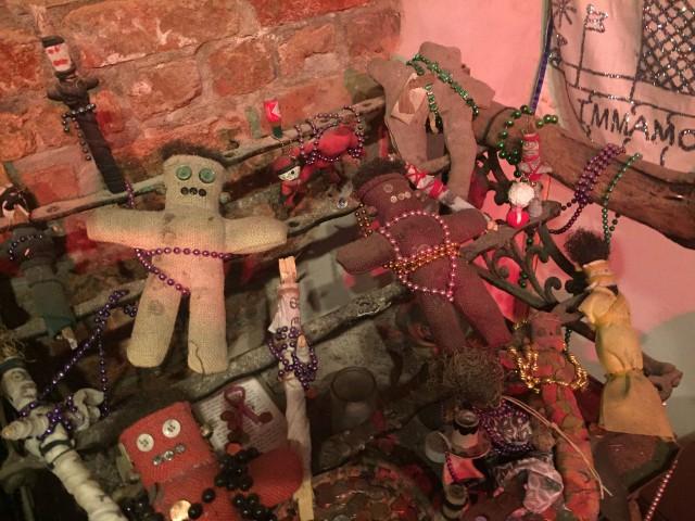 Mardi Gras Voodoo Museum dolls