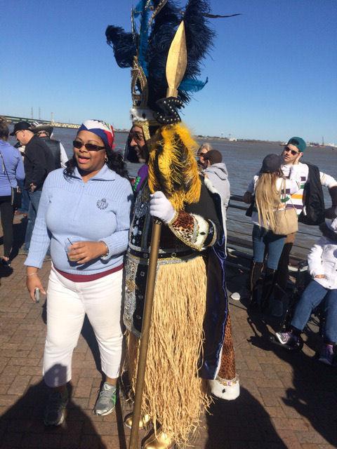 Mardi Gras Zulu Krewe member and fan