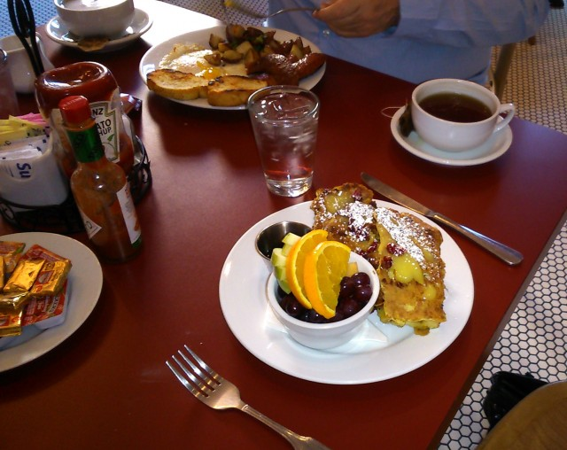 Mardi Gras breakfast