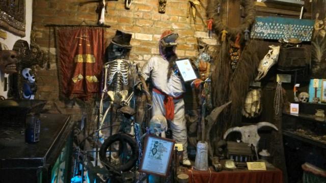 Mardi Gras voodoo museum