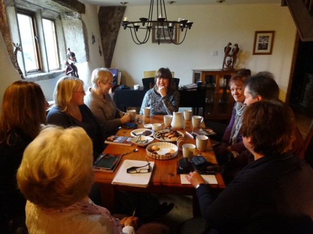Nidderdale Writers with Maggie1