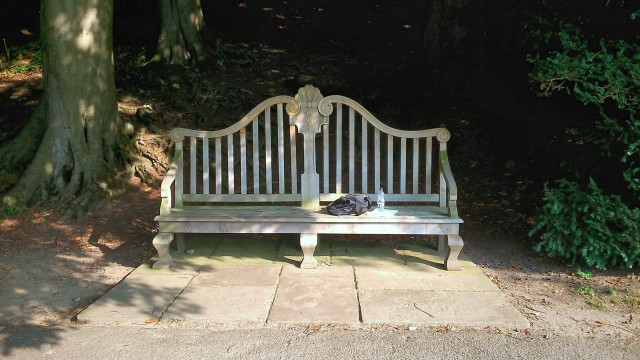 Studley Royal bench