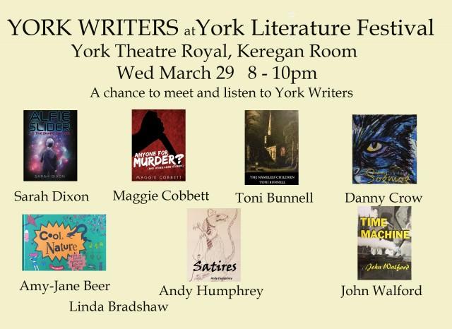 York Literature Festival 2017 YW poster books