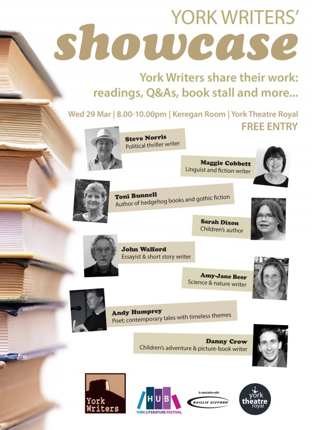 York Literature Festival 2017 YW poster photographs